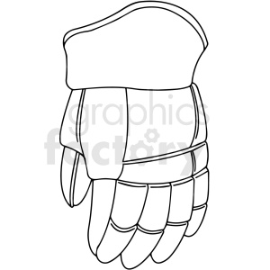 hockey glove clipart design clipart. Royalty-free image # 412941