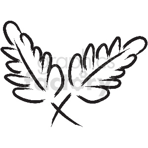black and white tattoo leafs vector clipart clipart. Royalty-free image # 413336