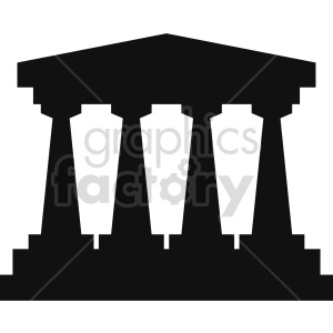 building pillars vector clipart 10 clipart. Royalty-free image # 413458