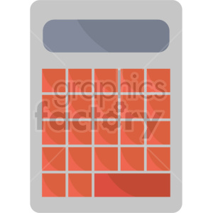 calculator vector clipart icon clipart. Commercial use image # 413505