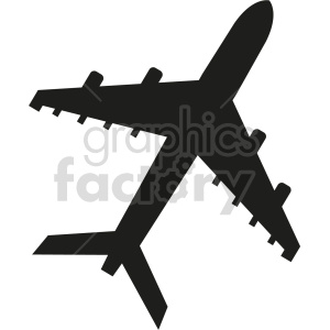 airplane vector clipart 4 clipart. Commercial use image # 413549