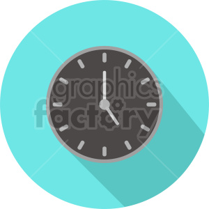 wall clock vector icon graphic clipart 2 clipart. Commercial use image # 413590