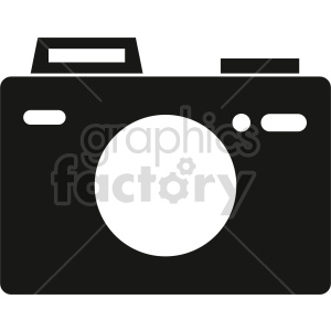 camera vector graphic 4 clipart. Commercial use image # 413604
