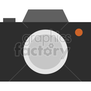 camera vector clipart 10 clipart. Commercial use image # 413625