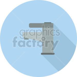 water faucet vector icon graphic clipart 3