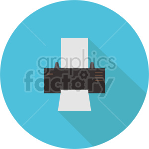 printer vector graphic clipart 1 clipart. Commercial use image # 413700