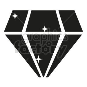 diamond vector icon graphic clipart 5