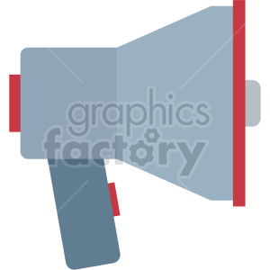 megaphone vector icon graphic clipart no background clipart. Commercial use image # 413839