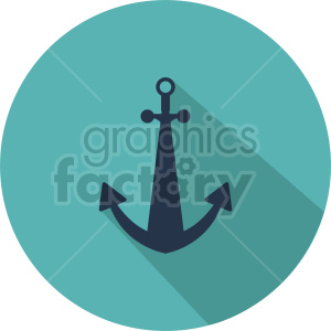 anchor vector icon graphic clipart 2 clipart. Royalty-free image # 413920