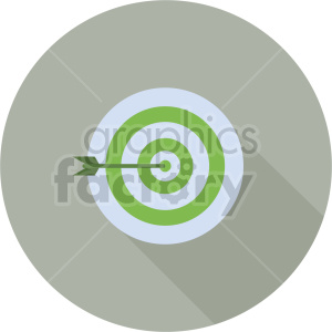 target vector icon graphic clipart 3
