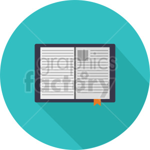 isometric journal vector icon clipart 7