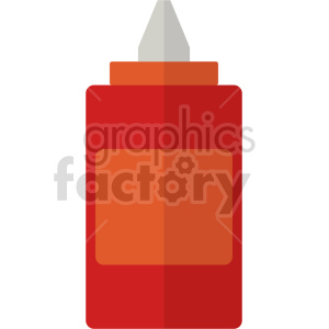 ketchup vector icon clipart clipart. Commercial use image # 414069