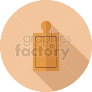 cutting board vector icon clipart 2