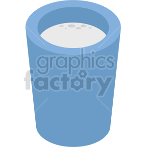 isometric milk glass vector icon clipart clipart. Commercial use image # 414084