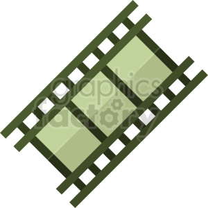 isometric film strip vector icon clipart 3 clipart. Commercial use image # 414151