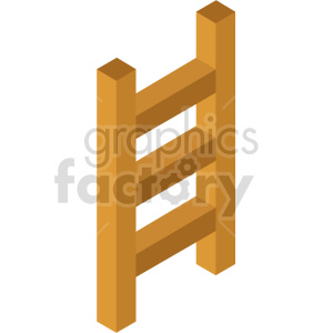 isometric ladder vector icon clipart 2 clipart. Commercial use image # 414155