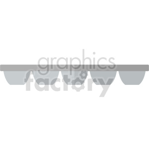isometric ice tray vector icon clipart 2 clipart. Commercial use image # 414265