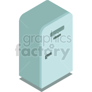 isometric refrigerator vector icon clipart 5 clipart. Commercial use image # 414294