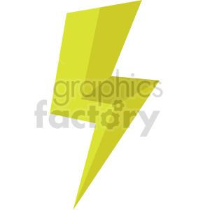 isometric lightning vector icon clipart 7 clipart. Commercial use image # 414315