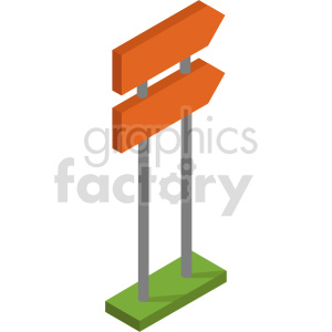 isometric sign vector icon clipart 6 clipart. Commercial use image # 414324