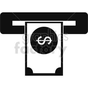atm vector icon clipart 5 clipart. Commercial use image # 414376