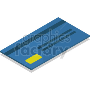 isometric credit card vector icon clipart 8 clipart. Commercial use image # 414384