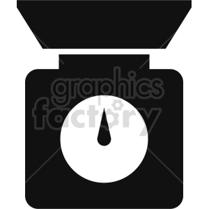 isometric kitchen scale vector icon clipart 3 clipart. Commercial use image # 414431