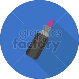 isometric lipstick vector icon clipart 1