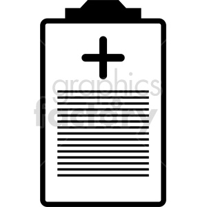 isometric medical report vector icon clipart 5 clipart. Commercial use image # 414630