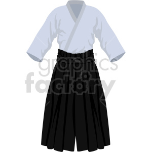 samurai outfit vector graphic clipart. Commercial use image # 414836