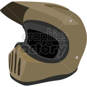 dirt bike motocross helmet vector clipart clipart. Commercial use image # 414895