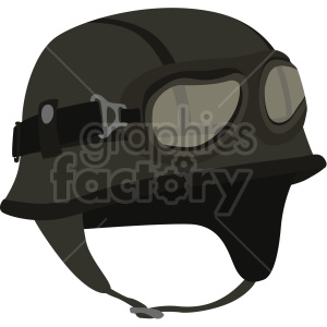 aviator helmet vector clipart clipart. Commercial use image # 414898