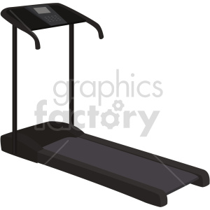 treadmill vector graphic clipart. Commercial use image # 414901