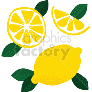 lemon vector graphic clipart. Commercial use image # 415107