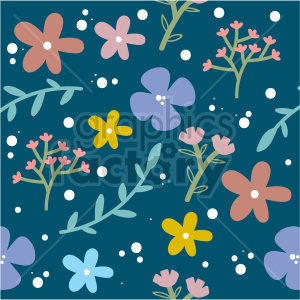 seamless flower background clipart clipart. Commercial use image # 415114