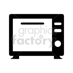 microwave vector clipart clipart. Commercial use image # 415239