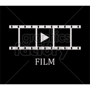 film strip on dark background clipart. Commercial use image # 415251