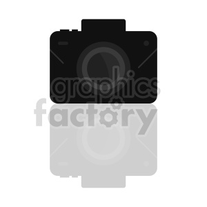 camera with reflection vector clipart. Commercial use image # 415252