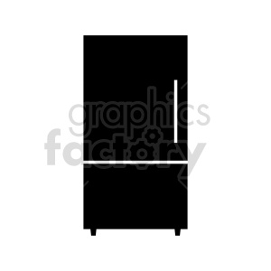 refrigerator vector clipart clipart. Commercial use image # 415260
