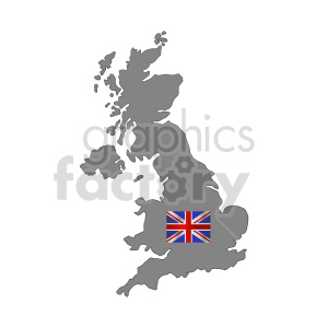 Great Britain flag vector clipart 010 clipart. Commercial use image # 415290