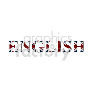 UK flag vector design 01 clipart. Commercial use image # 415312