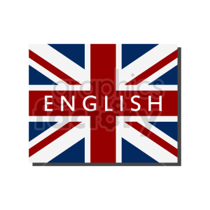 UK flag vector design 02 clipart. Commercial use image # 415421