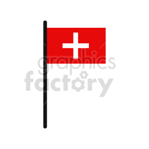 flag of Switzerland vector clipart 01 clipart. Commercial use image # 415422