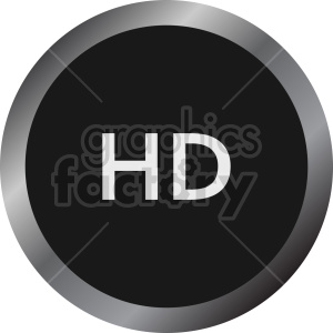 hd circle icon vector clipart clipart. Commercial use image # 415524