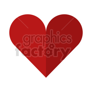 heart vector clipart clipart. Commercial use image # 415533