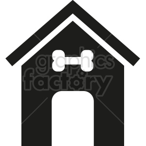 dog house icon design clipart. Commercial use image # 415674