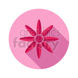 flower vector clipart design 4 clipart. Commercial use image # 415769