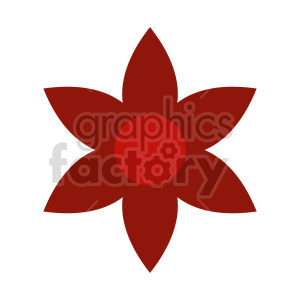flower vector clipart design 7 clipart. Commercial use image # 415793