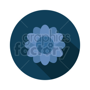 flower vector clipart design 2 clipart. Commercial use image # 415797