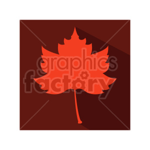 red maple leaf clipart